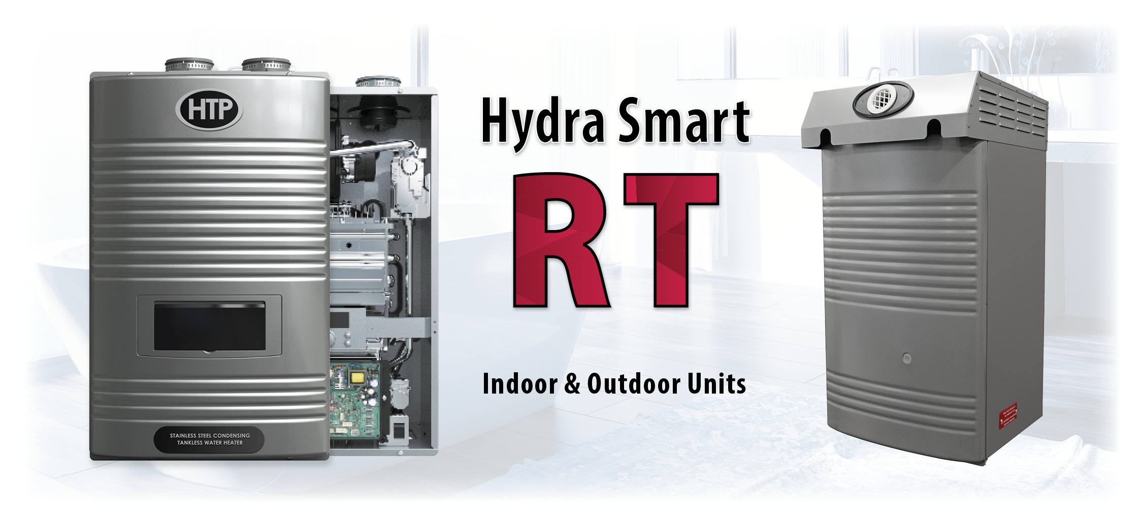 Hydra Smart Residential Condensing Gas Tankless Water Heater