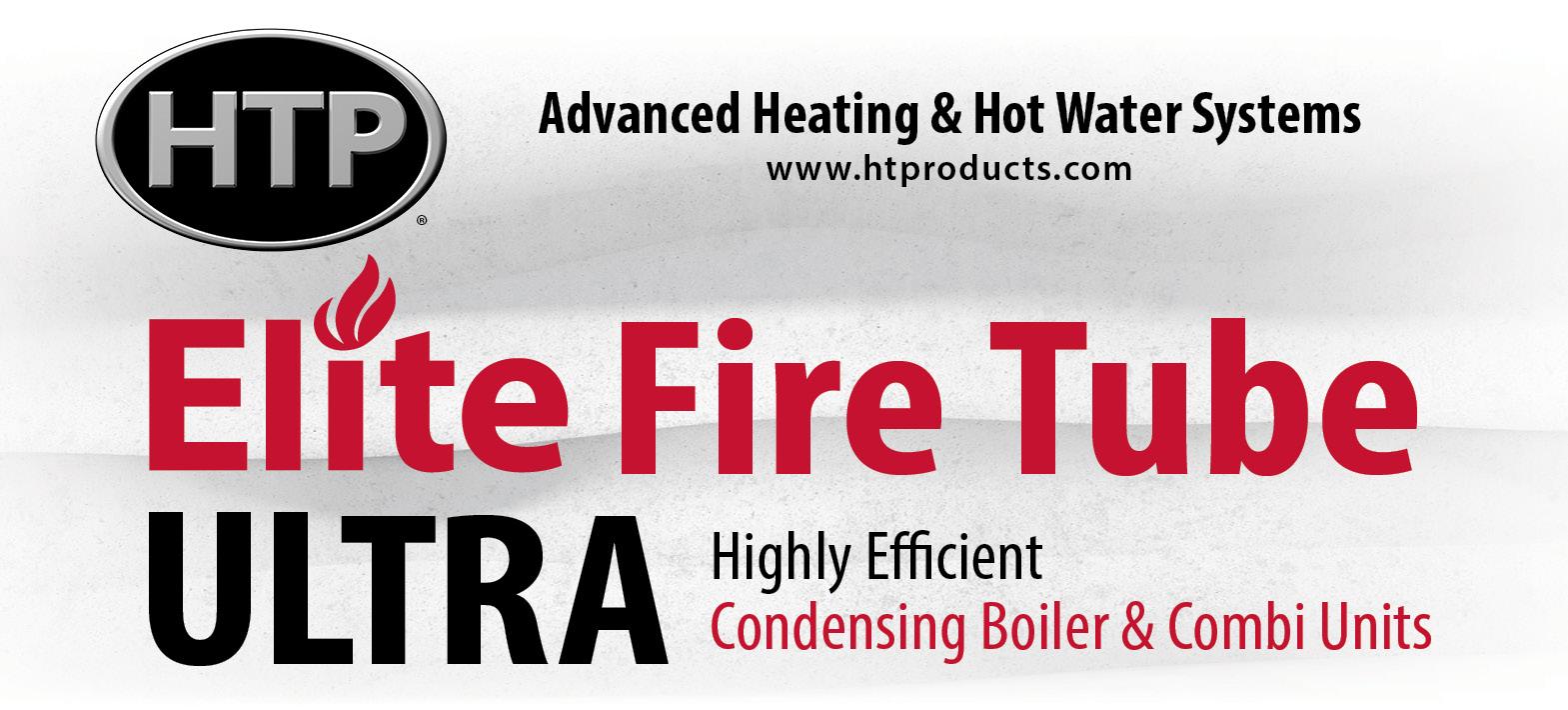 Elite Fire Tube Ultra Efficient Condensing Boiler & Combi